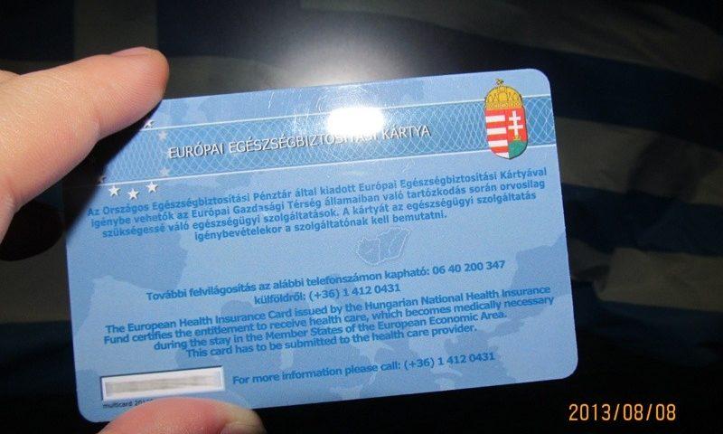 EU kártya