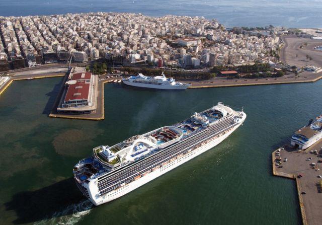 Pireusz, luxushajó kikötő