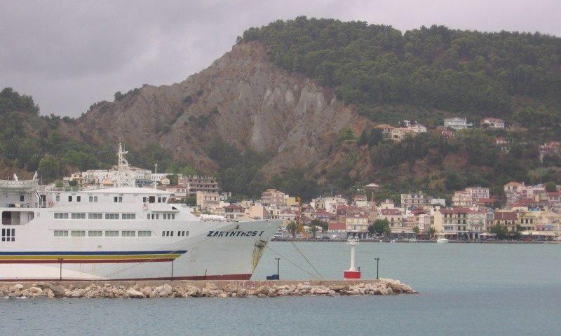 Zakynthos hajókikötő