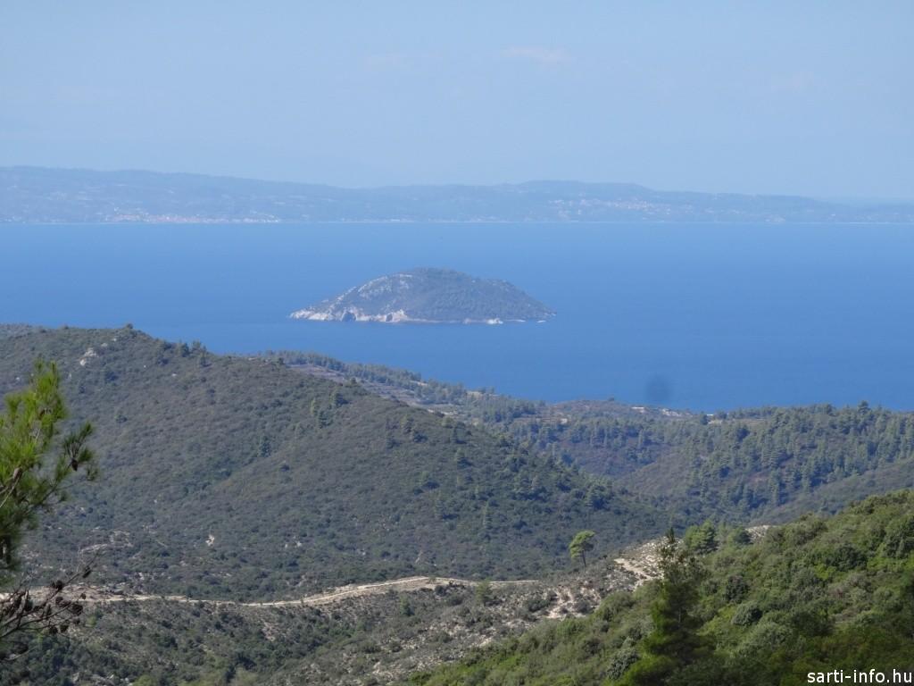 Kelifos szigete és Kasszandra a gerincről