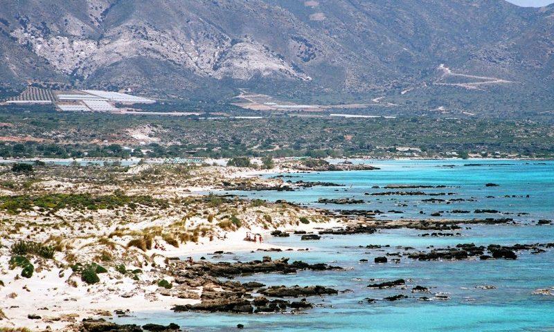 Elafonisi, Kréta