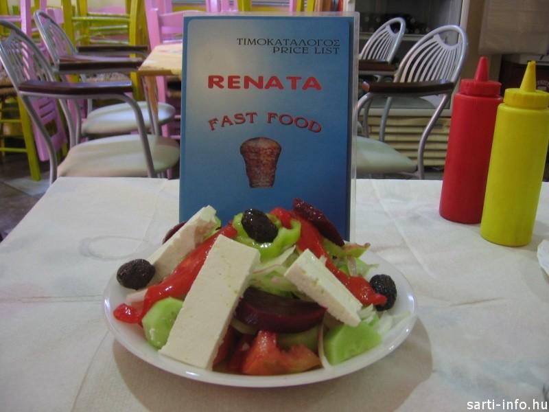 Görög saláta céklával