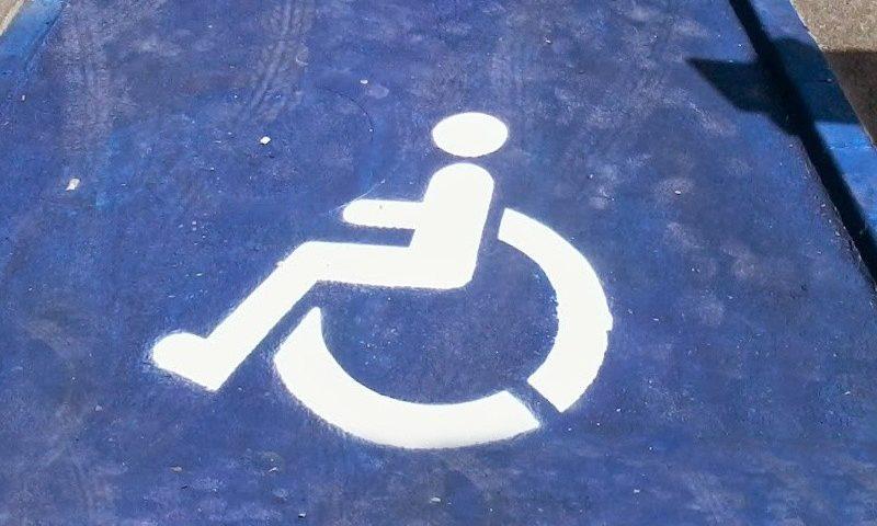 Mozgássérült parkolóhely