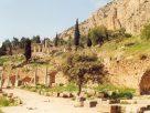 Delphoi : A Szent út