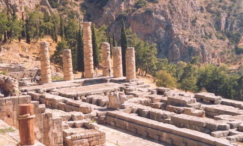 Delphoi: Apollon Temploma