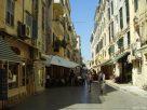 Korfu: utcarészlet