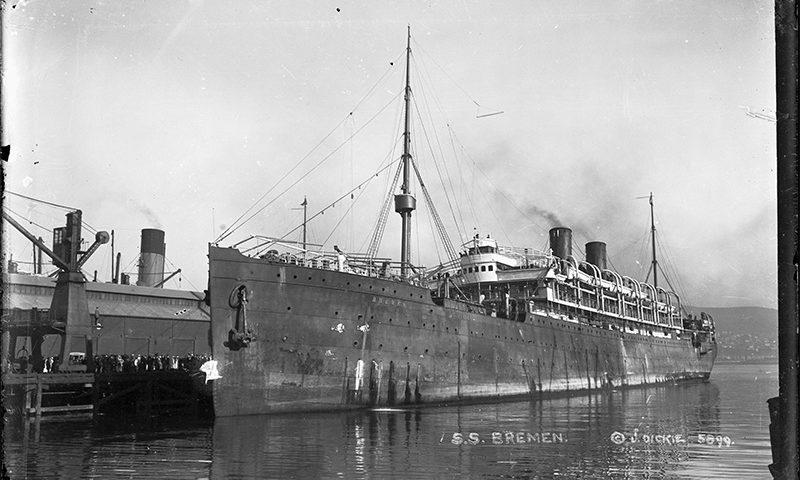SS Bremen, 1920