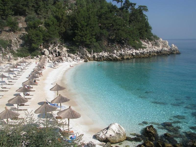 Salaria Beach Thassos (tengerpart)