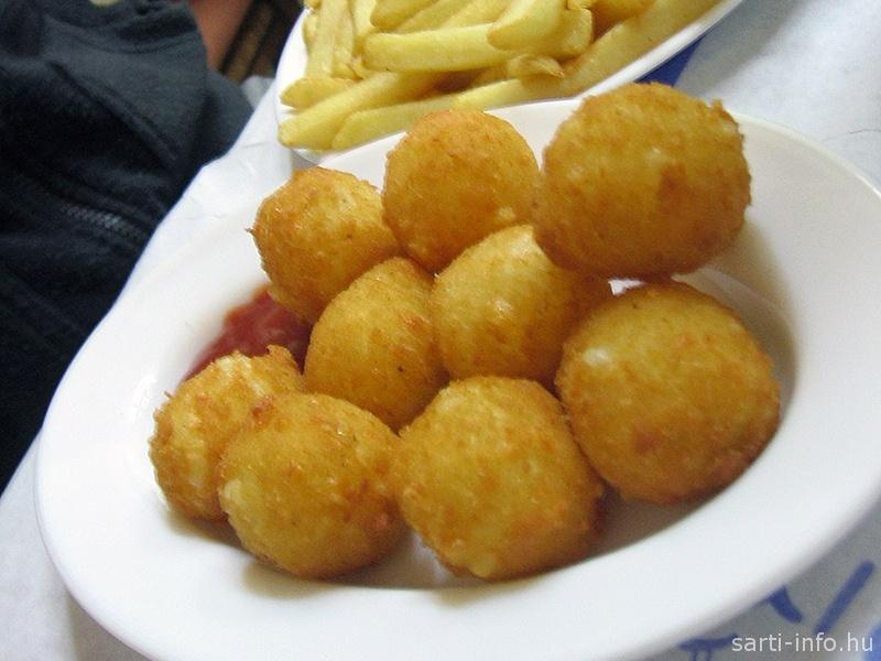 Tirokroketes (Görög sajtgolyó)