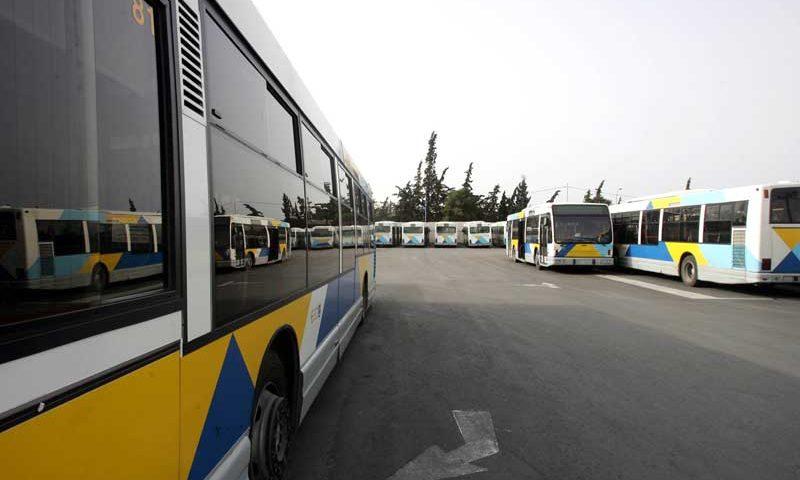 OASA buszok, Görögország