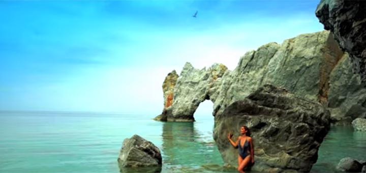 Despina Vandi a Skiathos szigeten