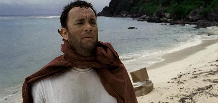 Tom Hanks a tengerparton