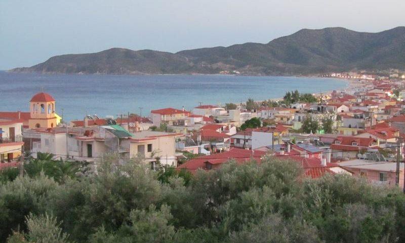 Sarti görög üdülőfalu
