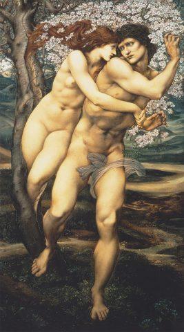 Sir Edward Burne Jones - A megbocsátás fája (Mandulafa)
