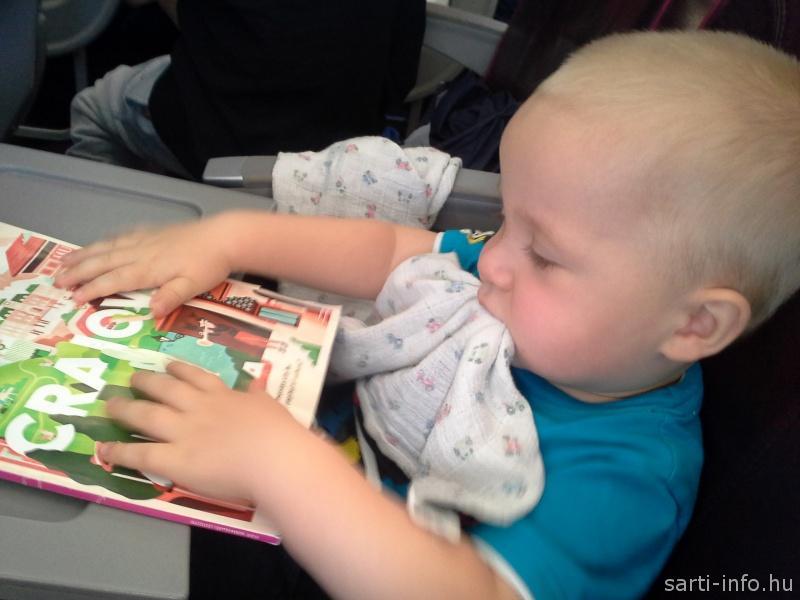 Olvas a baba