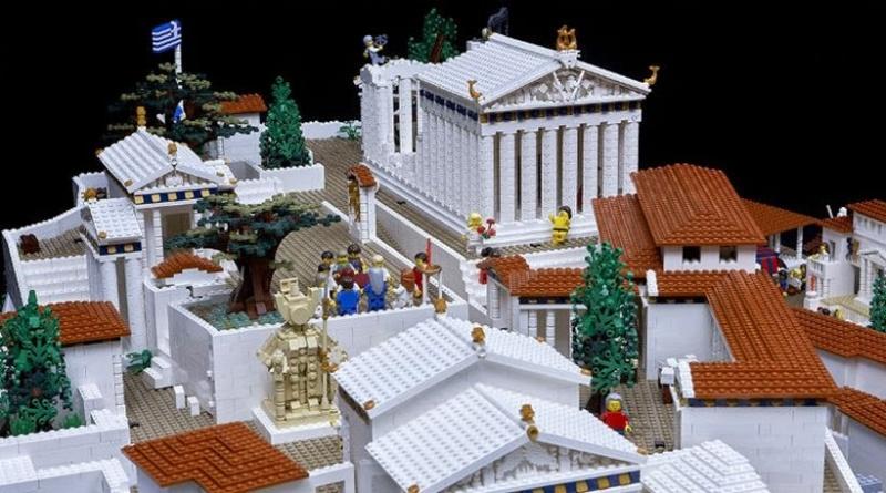 Az Akropolisz legóból