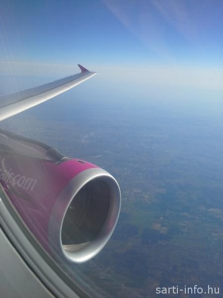 Kilátás a repülőről