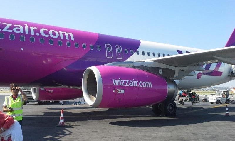 Wizzair repülő