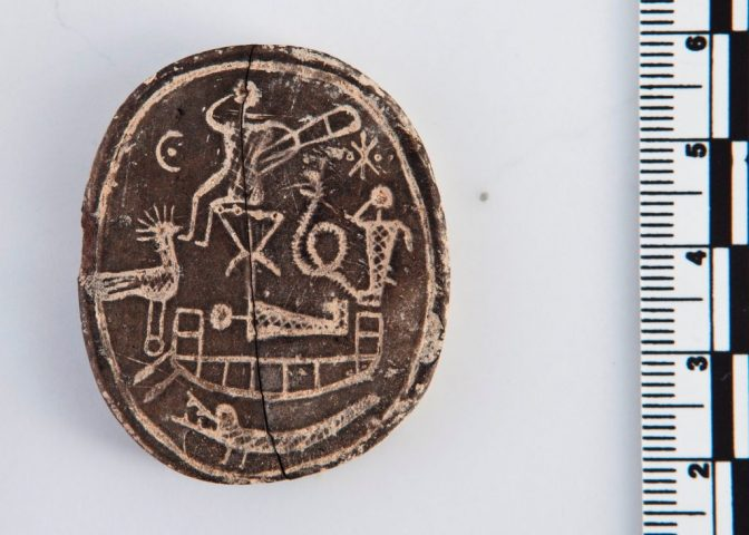 A Cipruson talált görög amulett másik fele
