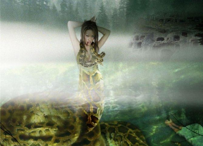 Ekhidna görög istennő