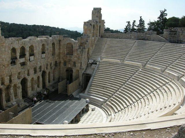 Herodes Atticus színház