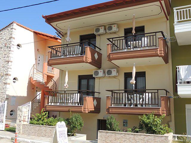 Malamatenia Ház (Sarti)