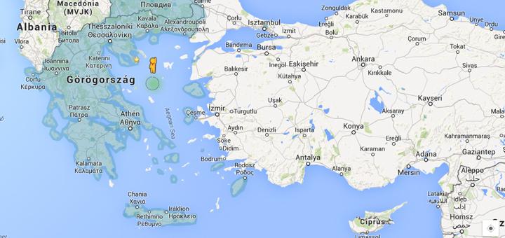 Google térkép Görögország