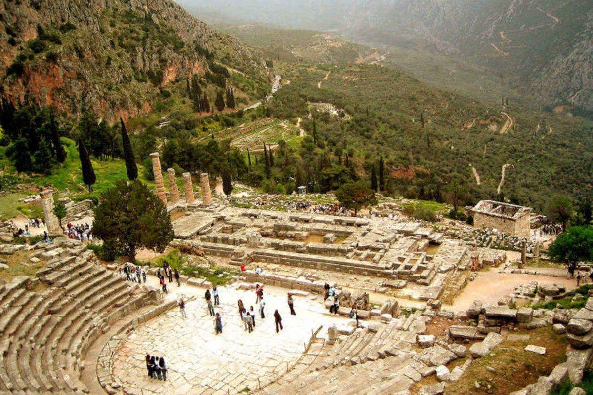 A Delfi jósda Görögországban