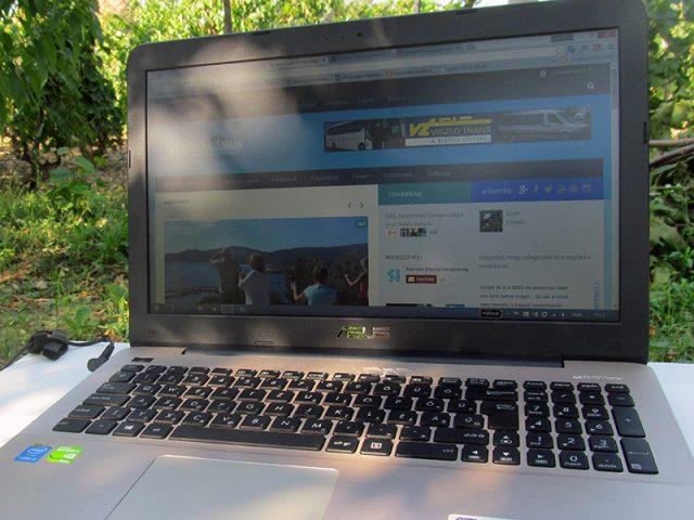 Internet használat nyaraláskor