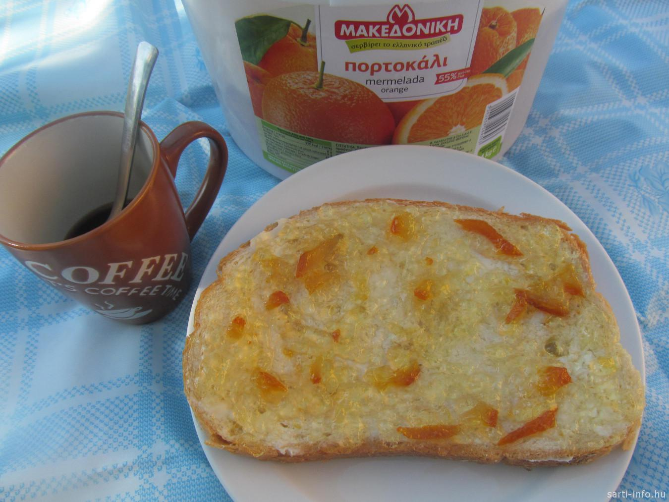 Görög narancs Marmalade