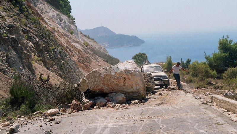 Lefkada földrengés