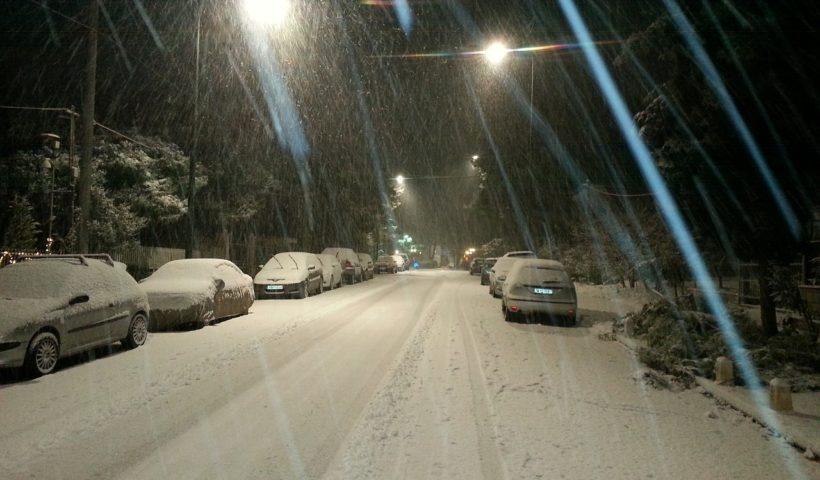 Hóvihar Görögországban