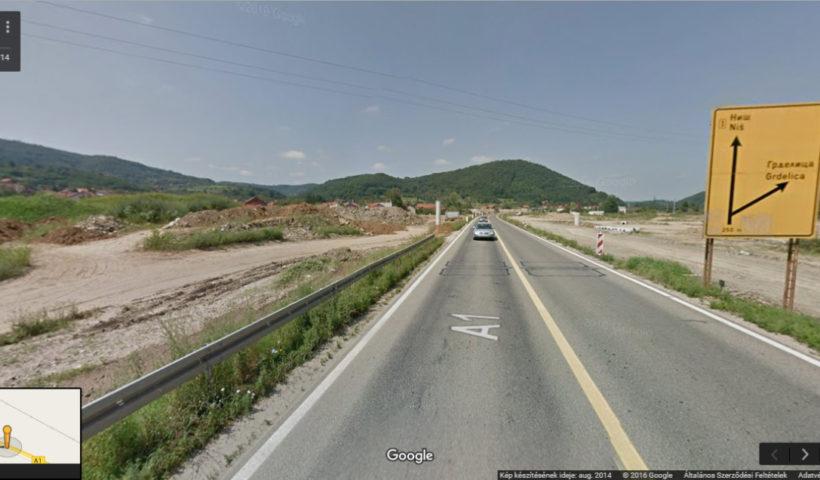 Szerb autópálya
