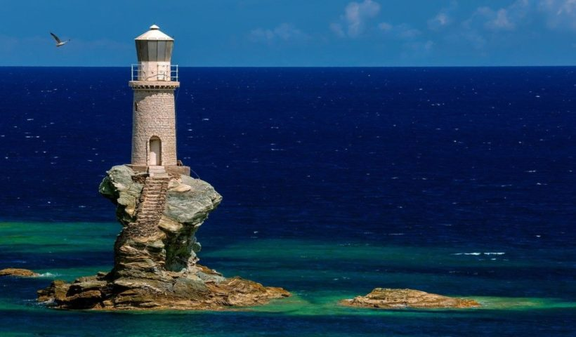 Világítótorony, Andros