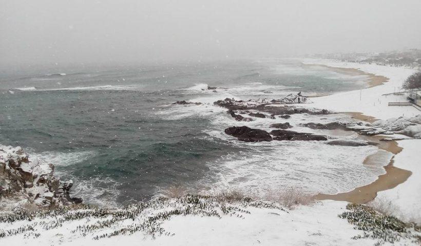 Sarti öböl télen