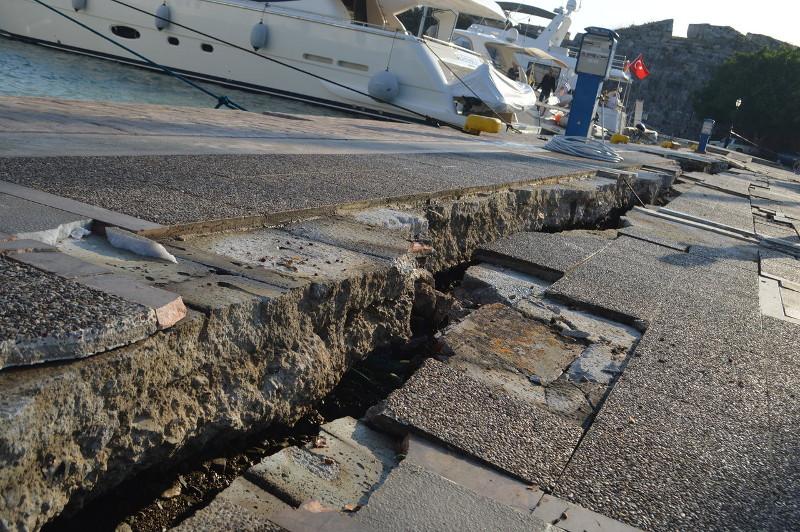 Kos-sziget földrengés után