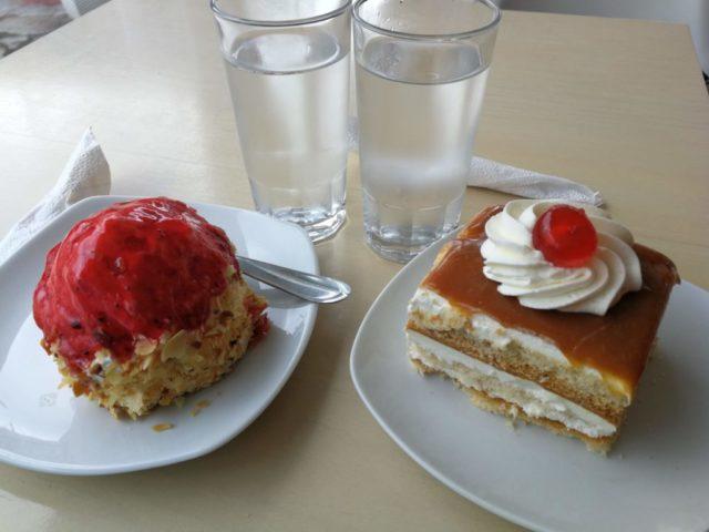 Sütemények, Sarti