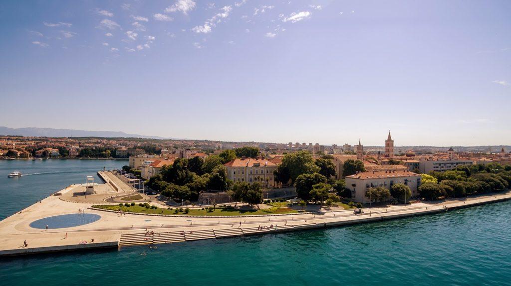Zadar tengeri orgonája