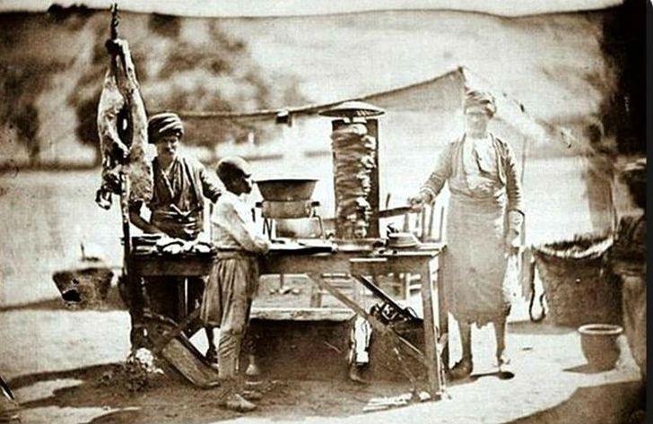 Utcai kebab árus
