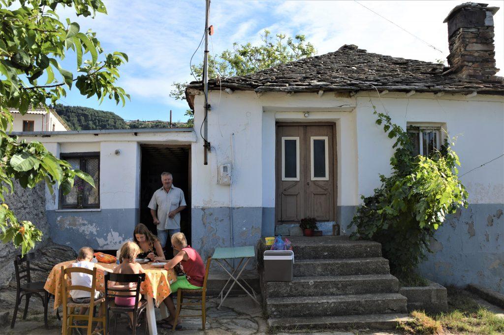 Hagyományos házikó az Olümposzon. Fotó: Kakány Rita