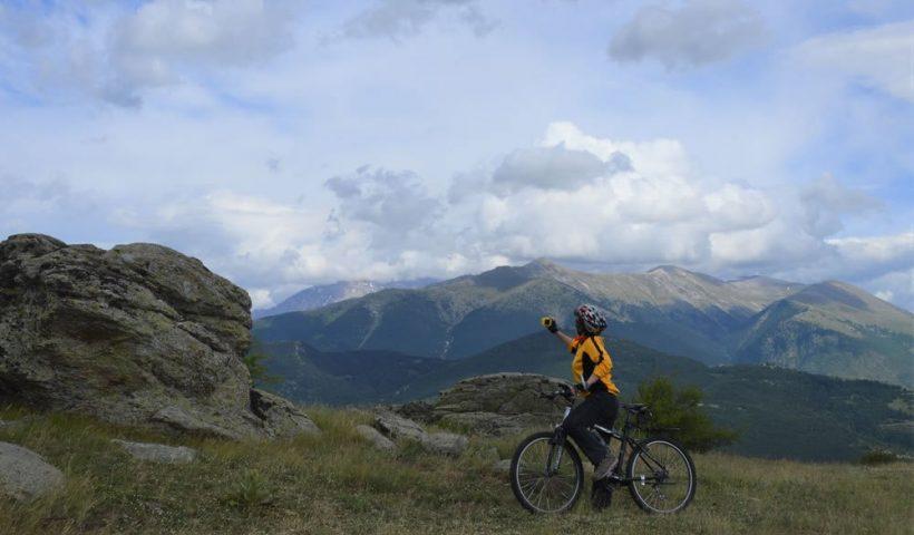 Kakány Rita a hegyekben