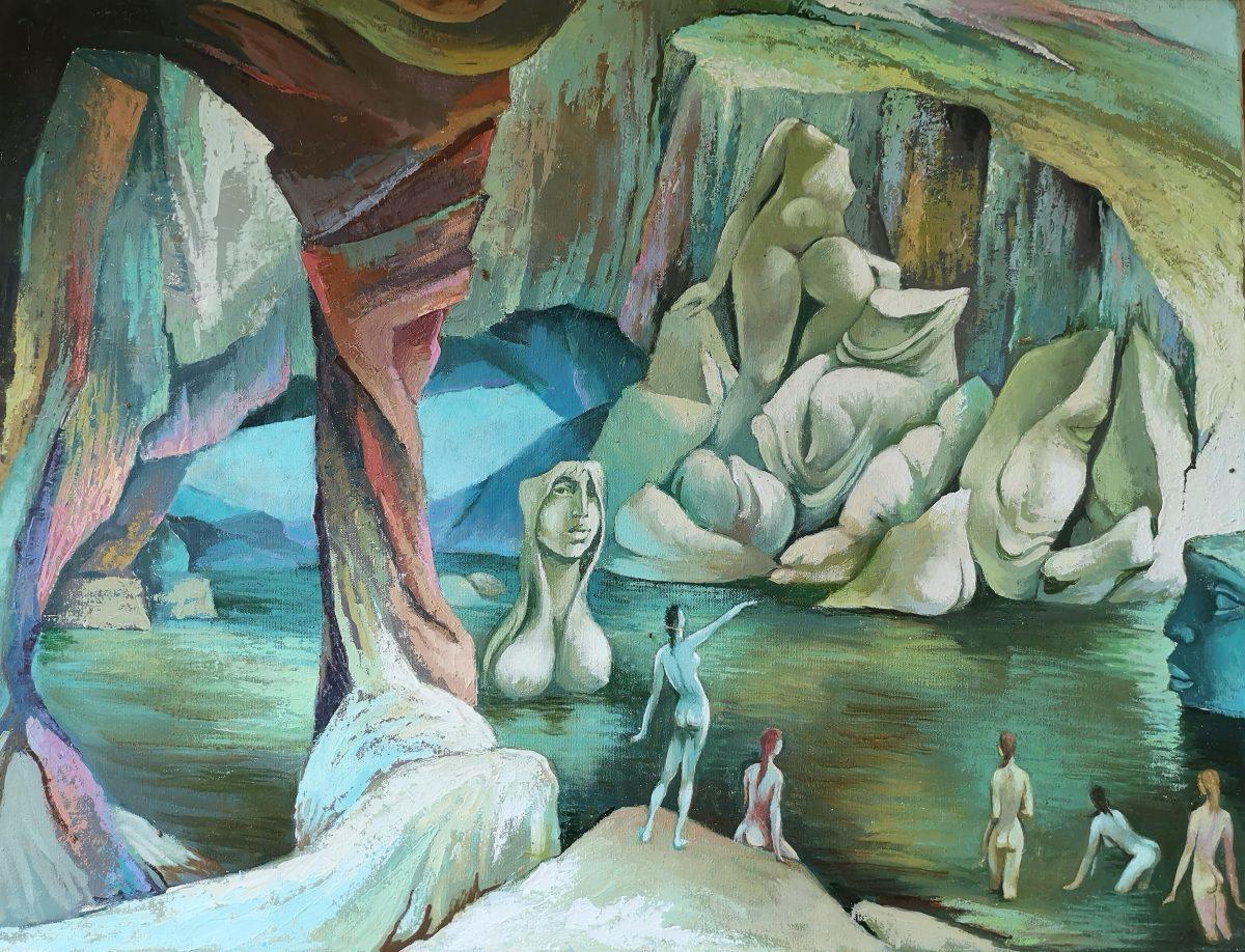 Huber József festménye